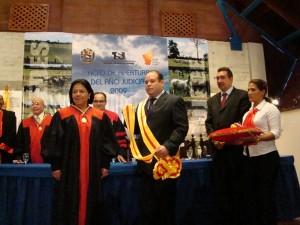 Magistrada fue condecorada con la orden Ciudad de Tinaquillo en su primera clase