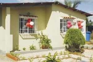 Esta es la nueva vivienda de la familia Terechea.
