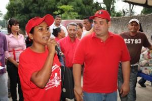 Consejo Comunal felicito al Alcalde por su gestion.