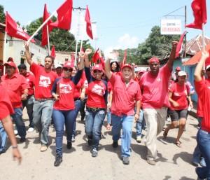 Caminatas con los candidatos a la asamblea en sector vallecito