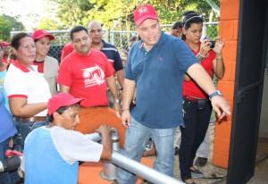 Alcaldia dono Bomba Acuatica Alsector los pinos