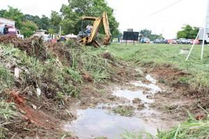 Limpiezas de canales se llevaron a cabo en distintas comunidades