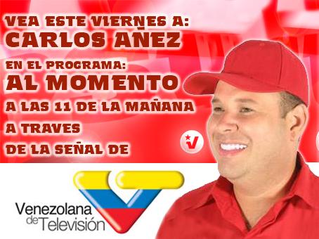 Carlos en VTV